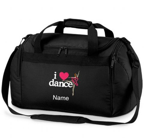 Personalised I LOVE BALLET DANCE Bag Mini Holdall